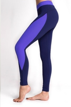 LEGS Леггинсы спортивные L1457 LEGGINGS SPORT LINE DARK BLUE/ULTRAMARINE